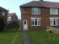 2 bed semi detached property in Wardley