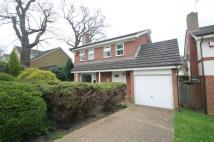 4 bedroom Detached property to rent in The Spinney, Tonbridge...