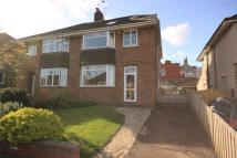 semi detached home in Priory Avenue...