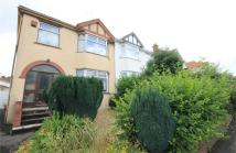 semi detached property for sale in Bishop Road, Bishopston...