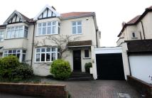 5 bed semi detached house for sale in Henleaze Park Drive...