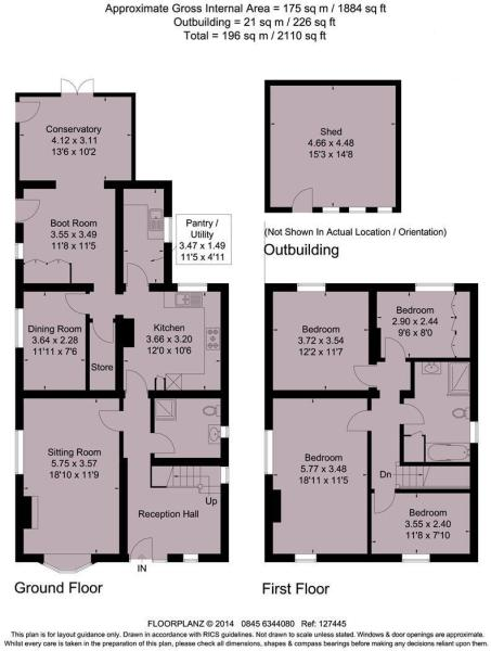 Gainslea Floor plan