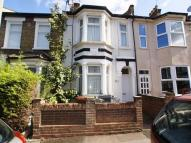 Terraced house in Spruce Hills Road...