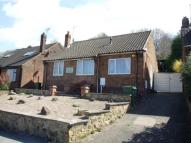 Detached Bungalow in Highfield Road, Belper