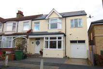 semi detached house in Spencer Hill Road...