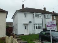 semi detached house in Kaye Road, Mansfield...