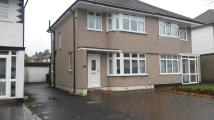 3 bedroom semi detached property to rent in Chatham Avenue, Hayes...
