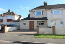 3 bedroom semi detached property in Willoughby Close...