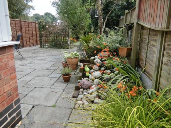 Laid Out Rear Garden