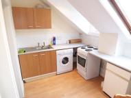 1 bed Flat to rent in TOP FLOOR FLAT...