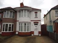 4 bedroom semi detached property in Carisbrook Road...
