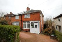 semi detached property for sale in Brent Road, Stirchley...