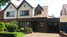 3 bedroom semi detached property to rent in Barn Lane, Kings Heath...