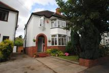 semi detached home in Greened Road, Moseley