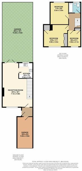 Floor Plan - 75 Sout