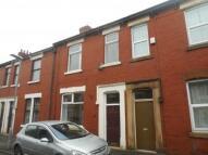 Terraced property in Balcarres Road    Preston