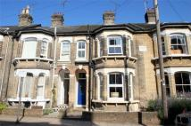 Terraced home for sale in Wellesley Road, Lexden...
