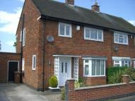 semi detached home to rent in Poplar Close, Alvaston...