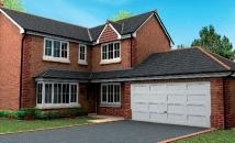 4 bed new house in Georges Close...