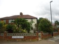 semi detached home for sale in Northern Avenue...