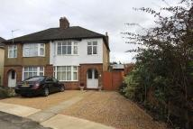 3 bedroom semi detached property for sale in Warren Crescent...