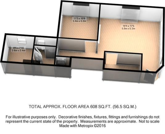3D Floor Plan -