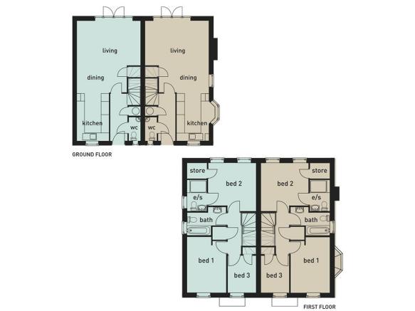 1&2 Helsby Floorplan