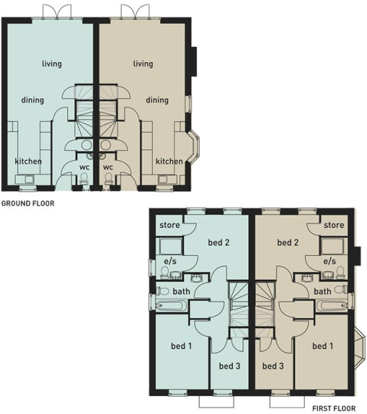 1&2 Helsby Floorplan
