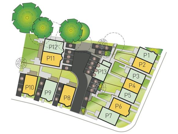 Siteplan Helsby Floo