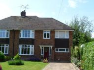 semi detached house in Lesley Avenue...