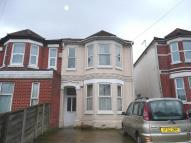 Terraced property in Burgess Road...