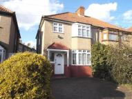 semi detached house to rent in Merriman Road, London...