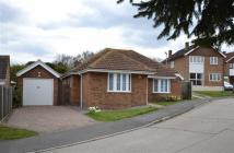 3 bed Detached Bungalow in Jarvis Field...