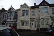 Terraced house in Onslow Road, Peverell...