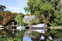 Detached home to rent in Church Island, Staines