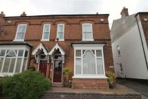 semi detached property in Wood Lane, Harborne