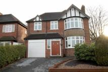 4 bed Detached home in Knightlow Road, Harborne