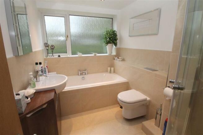 Re-furbished bathroo