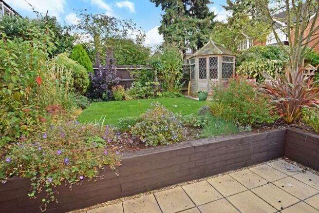Rear garden and pati