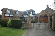 Detached house in Denham Lane...