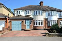 semi detached property in Walsingham Gardens...
