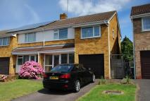 semi detached property in Fieldcote Drive...