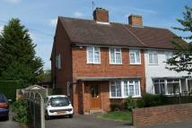 Buckingham Way semi detached property to rent