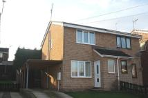 2 bed semi detached home in Curlew Avenue, Eckington...