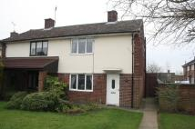 2 bed semi detached property in Bramley Close...