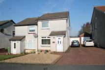 semi detached house for sale in Millersneuk Crescent...