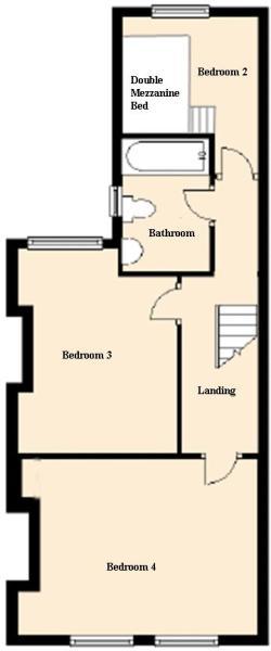 Upstairs Floorpan