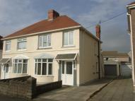 3 bed semi detached property in Swansea Road...