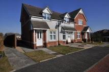 Terraced home in Wallace Brae Drive...