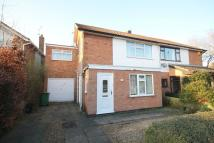 4 bed semi detached property in Hidcote Road, Oadby